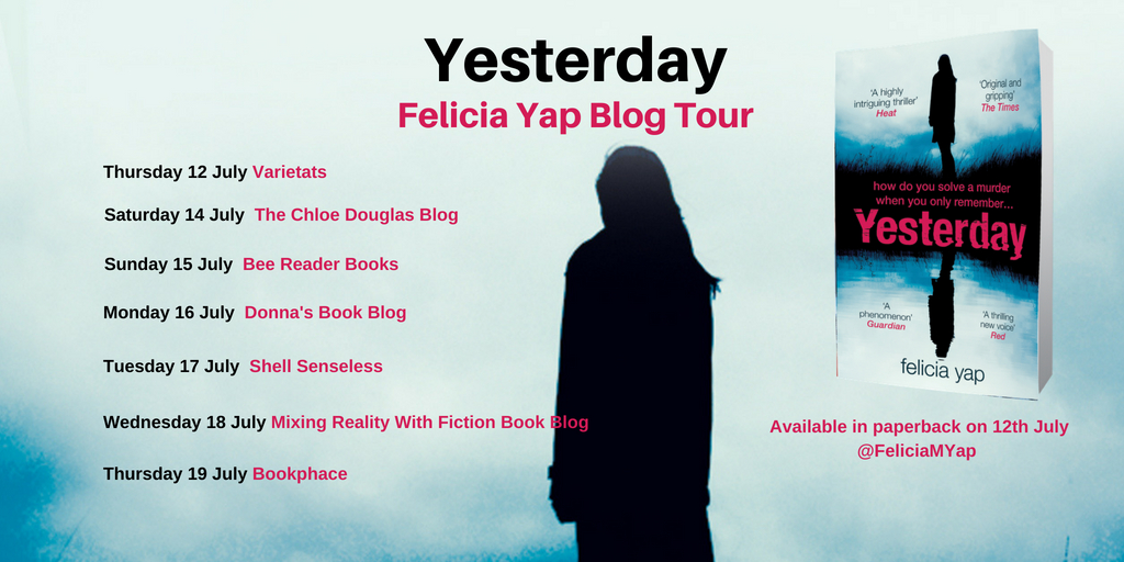 Yesterday blog tour poster
